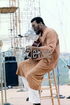 Richie Havens at Woodstock 1969
