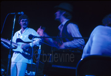 The Band at Woodstock copyright Barry Z Levine Photographer all  rights reserved