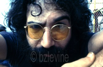 Jerry Garcia at Woodstock 1969